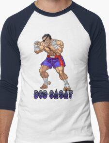 Bob Sagat Men's Baseball ¾ T-Shirt