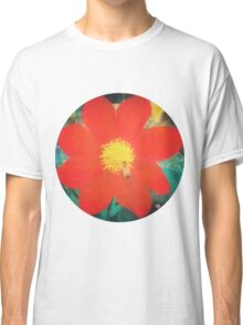 VINTAGE RED FLOWER Classic T-Shirt