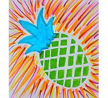 Pineapple blast Photographic Print