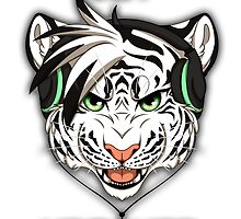 GET WRECKED - White Tiger by 8Bit-Paws