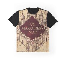 Marauders Map Graphic T-Shirt