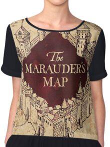 Marauders Map Chiffon Top