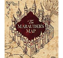 Marauders Map Photographic Print