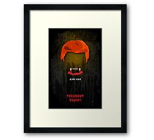 Make Halloween Scary Again. Framed Print