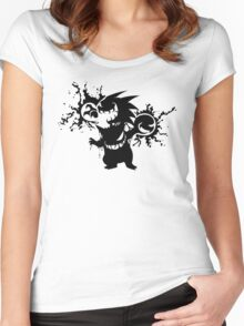 Gastly Evolution  Women's Fitted Scoop T-Shirt