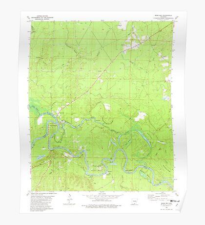 USGS TOPO Map Arkansas AR Moro Bay 259129 1981 24000 Poster