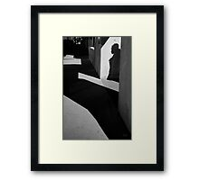 Arch and Shadow Old Town ABQ Framed Print