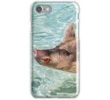 Swimming Pigs of Exuma Cays; Pt.3 iPhone Case/Skin