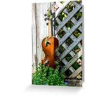 Music of Nature Greeting Card