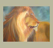 MGM Vegas Lion by KathleenEKelly