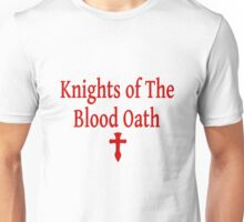 Knights of The Blood Oath - Sword Art Online - SAO - Kirito - Asuna - (Designs4You) Unisex T-Shirt