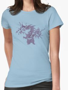 Gastly Evolution - Grunge Edition Womens Fitted T-Shirt