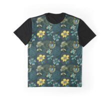 Florals and Frames Graphic T-Shirt