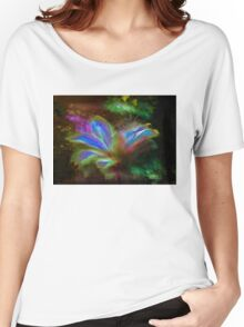 Psychedelic Flower Women's Relaxed Fit T-Shirt