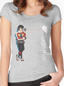 Tin Can Telephone (Keith) Women's Fitted Scoop T-Shirt