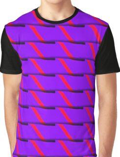 Purple Slices Graphic T-Shirt