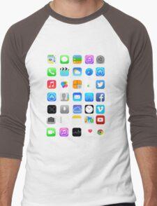 Apple Icons Men's Baseball ¾ T-Shirt