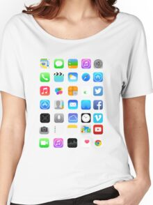 Apple Icons Women's Relaxed Fit T-Shirt