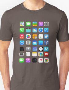 Apple Icons Unisex T-Shirt