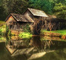 Mabry Mill by Anthony M. Davis