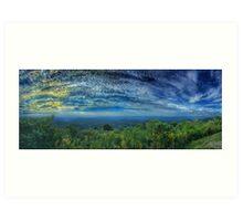 Morning on the Blue Ridge Art Print