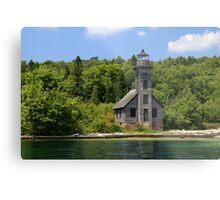 Grand Island Lighthouse 4 Metal Print