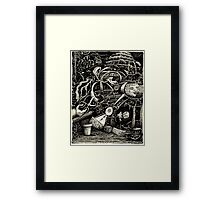 The Garden of Madness Framed Print