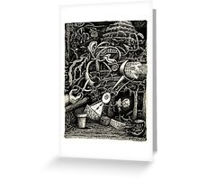 The Garden of Madness Greeting Card