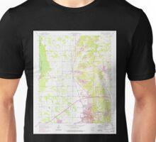 USGS TOPO Map Arkansas AR Forrest City 258479 1958 24000 Unisex T-Shirt