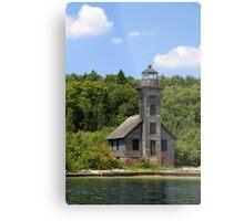 Grand Island Lighthouse 5 Metal Print