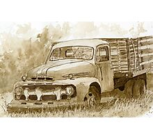 Forgotten Ford Photographic Print