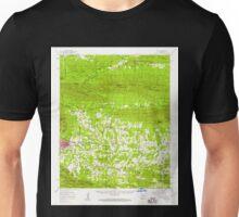 USGS TOPO Map Arkansas AR Mena 260196 1958 62500 Unisex T-Shirt