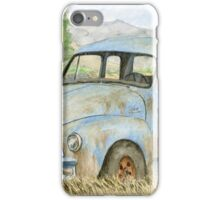 Rusty Blue Chevy iPhone Case/Skin
