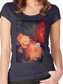Rose 358 Women's Fitted Scoop T-Shirt