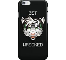GET WRECKED - White Tiger iPhone Case/Skin