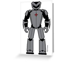 Vectorbot 009 Greeting Card