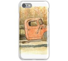 Old Dodge Truck in Autumn iPhone Case/Skin