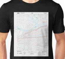 USGS TOPO Map Arkansas AR Mulberry 20110727 TM Unisex T-Shirt