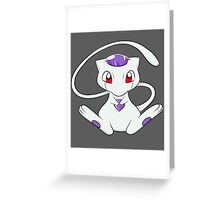 mew frieza crossover Greeting Card