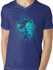 Ex soldier Art Mens V-Neck T-Shirt