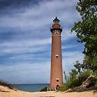 Petite Pointe Au Sable Lighthouse - Michigan by Kathy Weaver