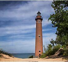 Petite Pointe Au Sable Lighthouse - Michigan Photographic Print