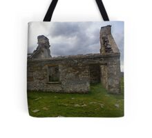 Ruined Cottage at Cashelnagor, County Donegal, Ireland Tote Bag