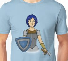 Female Elven Warrior Unisex T-Shirt