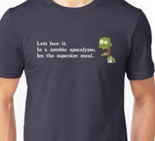 Zombie Apocalypse (White Text) Unisex T-Shirt