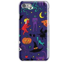 Retro Halloween iPhone Case/Skin