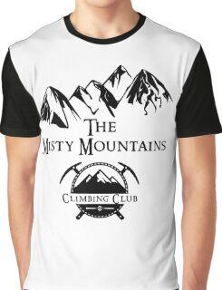 Misty Mountains Climbing Club, LOTR Parody  Graphic T-Shirt