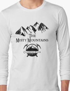 Misty Mountains Climbing Club, LOTR Parody  Long Sleeve T-Shirt