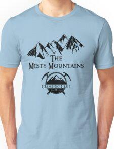 Misty Mountains Climbing Club, LOTR Parody  Unisex T-Shirt