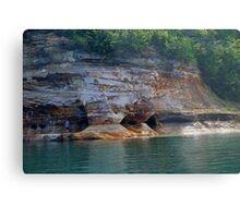 Pictured Rock National Lakeshore 8 Metal Print